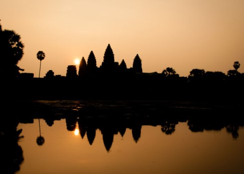An Angkor Wat sunrise