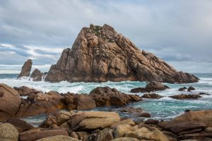Sugarloaf Rock on the second morning of my trip.