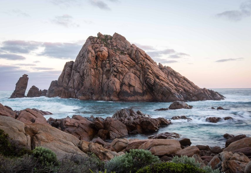 Sugarloaf Rock in the southwest of Western Australia. Picture: Chris Mannolini