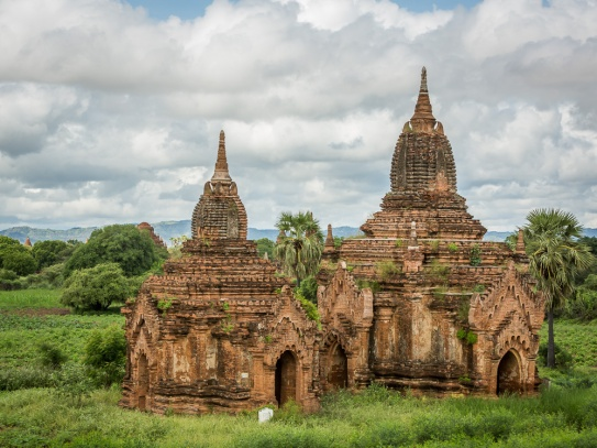 Buddhist temples in Bagan, Myanmar. Picture: Chris Mannolini.